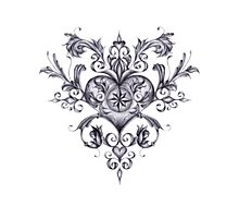 Filigree Love Photographic Print