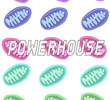 Mitochondria- Powerhouse by ElectraART