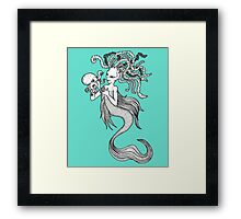 Creatures of the Deep Framed Print
