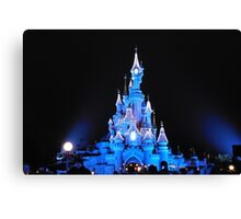 Holiday at the Castle Canvas Print