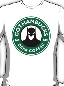 Batman - Starbucks Parody T-Shirt