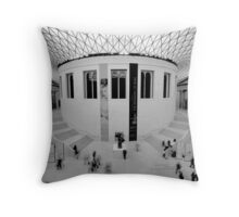 The Great Court Throw Pillow