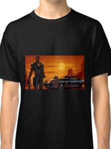 Mad Max and the V8 Interceptor Classic T-Shirt