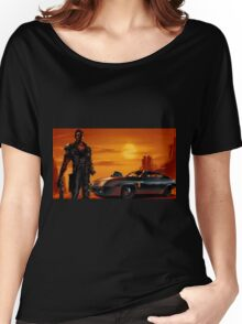 Mad Max and the V8 Interceptor Women's Relaxed Fit T-Shirt