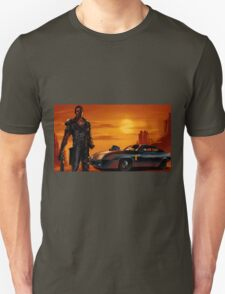 Mad Max and the V8 Interceptor Unisex T-Shirt