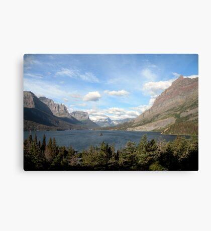 Glacier National Park - Morning Wind Canvas Print