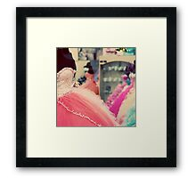Quinceanera Dresses Framed Print