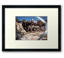 Destruction Framed Print