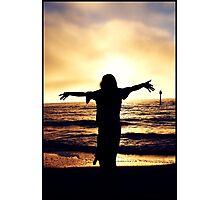 Sunset Silhouette II Photographic Print