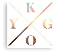 KYGO Shirt White Metal Print