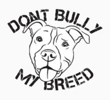 Pitbull:Dont Bully my breed T-Shirt