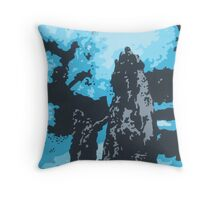 Colorado Blue Sky Throw Pillow