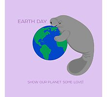 Manatee - Earth Day Photographic Print