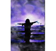 Sunset Silhouette III Photographic Print