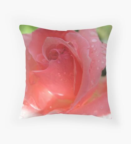 A Coral Cape Throw Pillow