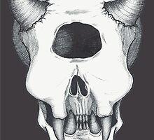 Cyclops Skull by BettyRocksteady