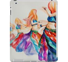 belly dancer in motion iPad Case/Skin