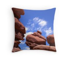 Garden of the Gods 4 Throw Pillow