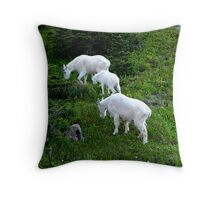 3 billy`s Gruff Throw Pillow