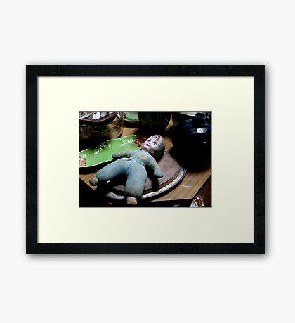 Junque Life #3 Framed Print
