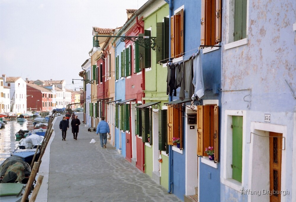 Colours of Burano by Tiffany Dryburgh