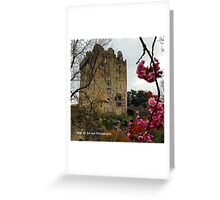 Ireland - Blarney Blossom Greeting Card