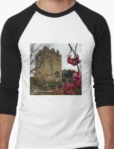 Ireland - Blarney Blossom Men's Baseball ¾ T-Shirt