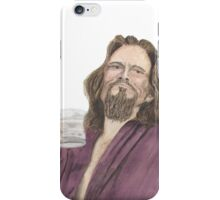 "Jeffrey ""the Dude"" Lebowski iPhone Case/Skin"
