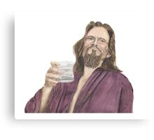 "Jeffrey ""the Dude"" Lebowski Canvas Print"