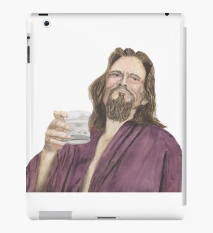 "Jeffrey ""the Dude"" Lebowski iPad Case/Skin"