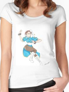 Chun Li Women's Fitted Scoop T-Shirt