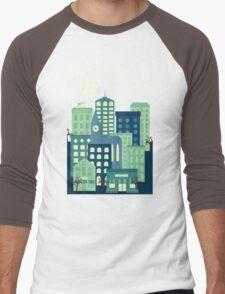 District Men's Baseball ¾ T-Shirt