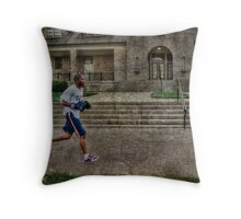 Young Boxer Throw Pillow