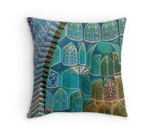 Samarkand mausoleum Throw Pillow