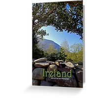 Ireland - Ring of Kerry Cover Greeting Card