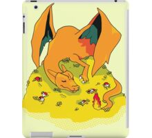 I am FIRE-type, I am DEATH! iPad Case/Skin