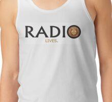 Radio Lives - Copper Tank Top