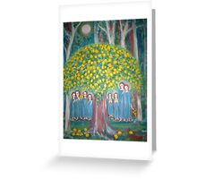 """The sacred lemon Tree"" Greeting Card"