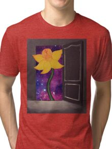 I Wandered Lonely As a Cloud Tri-blend T-Shirt