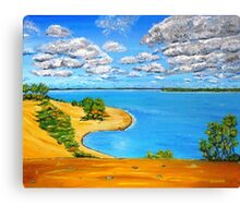 Dune beach Sandbanks Ontario Canvas Print