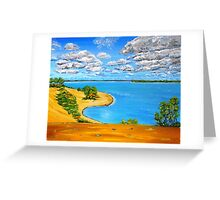 Dune beach Sandbanks Ontario Greeting Card