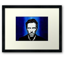 House, M.D. Framed Print