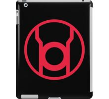 Red Lantern Corps Symbol iPad Case/Skin