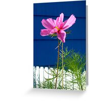 Pink and Blue at Cannon Beach Greeting Card