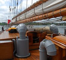 Bluenose ll - Lunenburg, Nova Scotia by Richard  Stanley