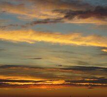 Sunrise over Denver by Terry Hester