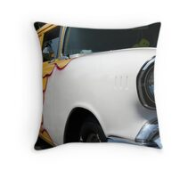Burnin' Wagon Throw Pillow