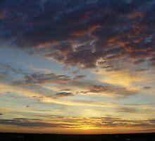 Sunrise over Denver 2 by Terry Hester
