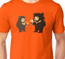Sun Bear & Sloth Bear Eating Ice Cream Cones Unisex T-Shirt