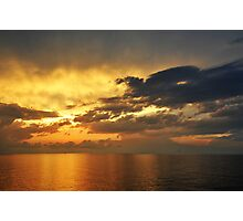 Sunrise over the Gulf of Mexico 2 Photographic Print